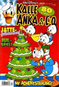 Cover Thumbnail for Kalle Anka & C:o (Serieförlaget [1980-talet], 1992 series) #52-53/1992