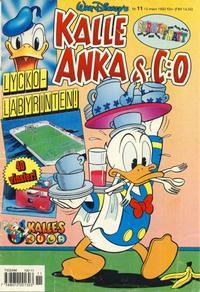 Cover Thumbnail for Kalle Anka & C:o (Serieförlaget [1980-talet], 1992 series) #11/1993