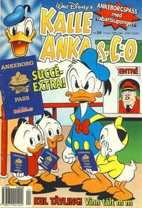 Cover Thumbnail for Kalle Anka & C:o (Serieförlaget [1980-talet], 1992 series) #24/1993