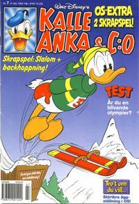 Cover Thumbnail for Kalle Anka & C:o (Serieförlaget [1980-talet], 1992 series) #7/1994