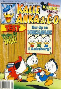 Cover Thumbnail for Kalle Anka & C:o (Serieförlaget [1980-talet], 1992 series) #21/1994