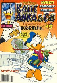 Cover Thumbnail for Kalle Anka & C:o (Serieförlaget [1980-talet], 1992 series) #2/1995