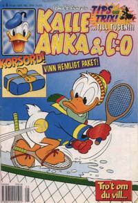 Cover Thumbnail for Kalle Anka & C:o (Serieförlaget [1980-talet], 1992 series) #5/1995