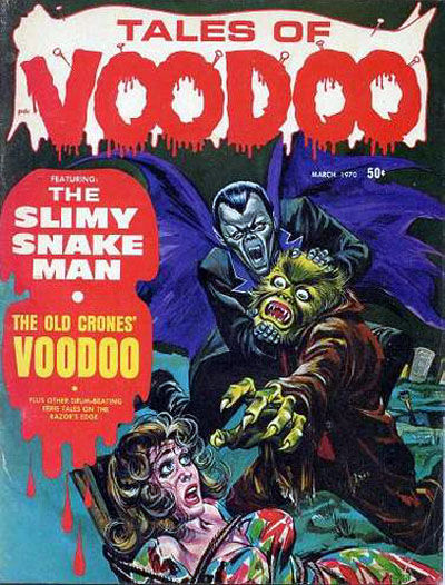 Cover for Tales of Voodoo (Eerie Publications, 1968 series) #v3#2