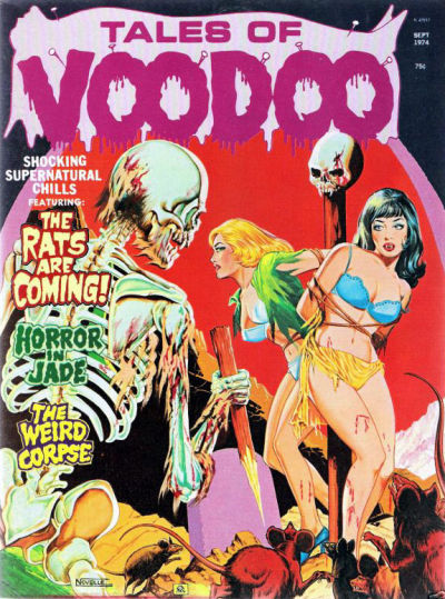 Cover for Tales of Voodoo (Eerie Publications, 1968 series) #v7#5