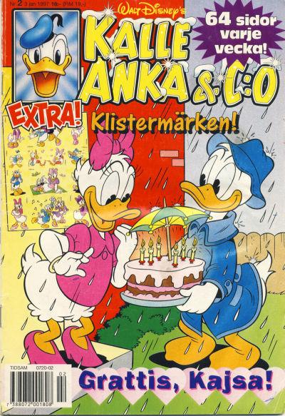 Cover for Kalle Anka & C:o (Serieförlaget [1980-talet], 1992 series) #2/1997