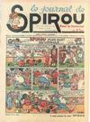 Cover for Le Journal de Spirou (Dupuis, 1938 series) #25/1938