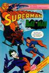 Cover for Superman (Egmont Ehapa, 1966 series) #5/1982