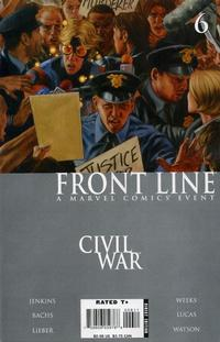 Cover Thumbnail for Civil War: Front Line (Marvel, 2006 series) #6