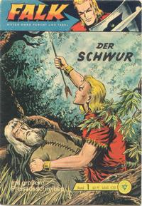 Cover Thumbnail for Falk, Ritter ohne Furcht und Tadel (Lehning, 1963 series) #1