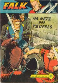 Cover Thumbnail for Falk, Ritter ohne Furcht und Tadel (Lehning, 1963 series) #4