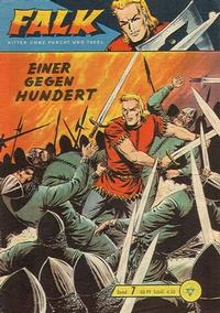 Cover Thumbnail for Falk, Ritter ohne Furcht und Tadel (Lehning, 1963 series) #7