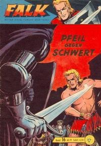 Cover Thumbnail for Falk, Ritter ohne Furcht und Tadel (Lehning, 1963 series) #16