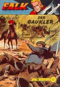 Cover Thumbnail for Falk, Ritter ohne Furcht und Tadel (Lehning, 1963 series) #18
