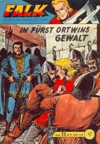 Cover Thumbnail for Falk, Ritter ohne Furcht und Tadel (Lehning, 1963 series) #23