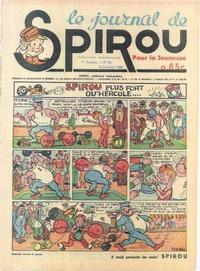 Cover Thumbnail for Le Journal de Spirou (Dupuis, 1938 series) #25/1938