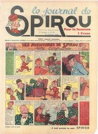 Cover Thumbnail for Le Journal de Spirou (Dupuis, 1938 series) #28/1938