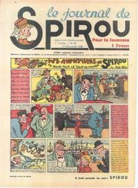 Cover Thumbnail for Le Journal de Spirou (Dupuis, 1938 series) #33/1938