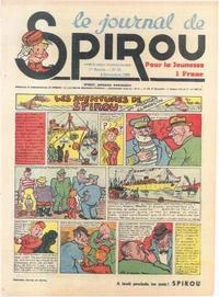 Cover Thumbnail for Le Journal de Spirou (Dupuis, 1938 series) #34/1938