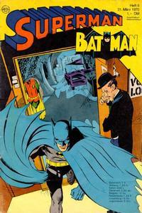 Cover Thumbnail for Superman (Egmont Ehapa, 1966 series) #6/1970
