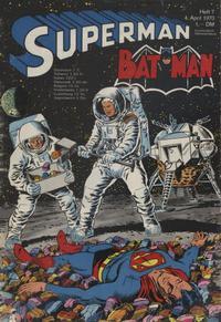 Cover Thumbnail for Superman (Egmont Ehapa, 1966 series) #7/1970