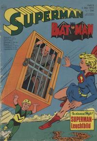 Cover Thumbnail for Superman (Egmont Ehapa, 1966 series) #9/1970