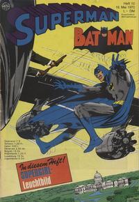 Cover Thumbnail for Superman (Egmont Ehapa, 1966 series) #10/1970