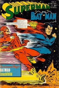 Cover Thumbnail for Superman (Egmont Ehapa, 1966 series) #11/1970
