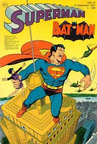 Cover Thumbnail for Superman (Egmont Ehapa, 1966 series) #19/1970