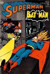 Cover Thumbnail for Superman (Egmont Ehapa, 1966 series) #20/1970