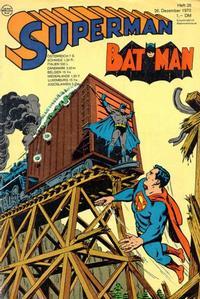 Cover Thumbnail for Superman (Egmont Ehapa, 1966 series) #26/1970