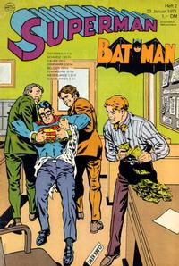Cover Thumbnail for Superman (Egmont Ehapa, 1966 series) #2/1971
