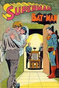 Cover Thumbnail for Superman (Egmont Ehapa, 1966 series) #6/1971