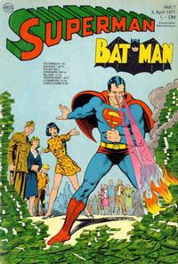 Cover Thumbnail for Superman (Egmont Ehapa, 1966 series) #7/1971