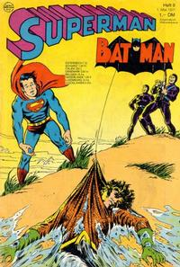 Cover Thumbnail for Superman (Egmont Ehapa, 1966 series) #9/1971