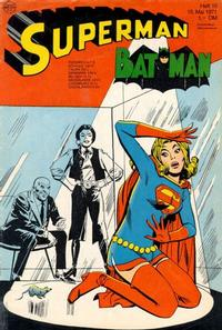 Cover Thumbnail for Superman (Egmont Ehapa, 1966 series) #10/1971