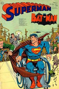 Cover Thumbnail for Superman (Egmont Ehapa, 1966 series) #11/1971