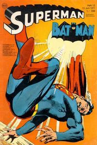 Cover Thumbnail for Superman (Egmont Ehapa, 1966 series) #12/1971
