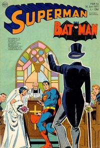 Cover Thumbnail for Superman (Egmont Ehapa, 1966 series) #13/1971