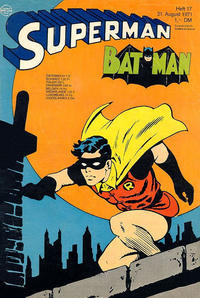 Cover for Superman (Egmont Ehapa, 1966 series) #17/1971