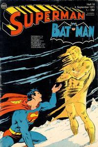 Cover Thumbnail for Superman (Egmont Ehapa, 1966 series) #18/1971