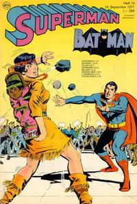Cover Thumbnail for Superman (Egmont Ehapa, 1966 series) #19/1971