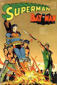 Cover Thumbnail for Superman (Egmont Ehapa, 1966 series) #23/1971