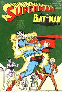 Cover Thumbnail for Superman (Egmont Ehapa, 1966 series) #3/1972