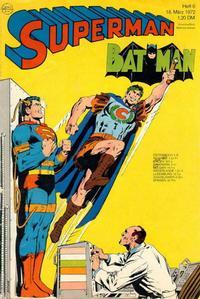 Cover Thumbnail for Superman (Egmont Ehapa, 1966 series) #6/1972