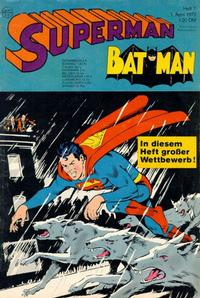 Cover Thumbnail for Superman (Egmont Ehapa, 1966 series) #7/1972