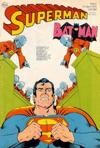 Cover Thumbnail for Superman (Egmont Ehapa, 1966 series) #8/1972