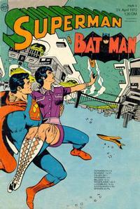 Cover Thumbnail for Superman (Egmont Ehapa, 1966 series) #9/1972