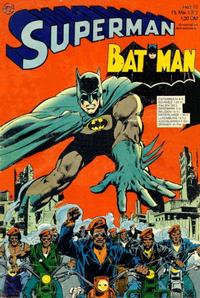 Cover Thumbnail for Superman (Egmont Ehapa, 1966 series) #10/1972