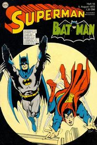 Cover Thumbnail for Superman (Egmont Ehapa, 1966 series) #16/1972